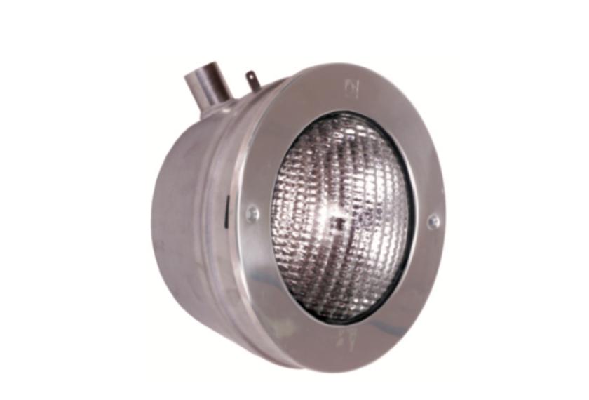 Edelstahlscheinwerfer V4A 300 W, 12 V
