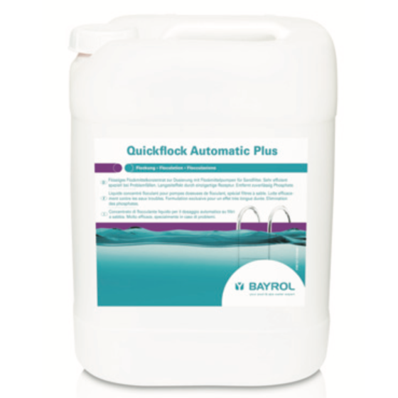 Quickflock Automatik Plus mit Lanthan KS-Kanister