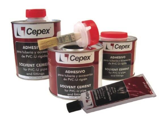 CEPEX-Kleber mit Pinsel