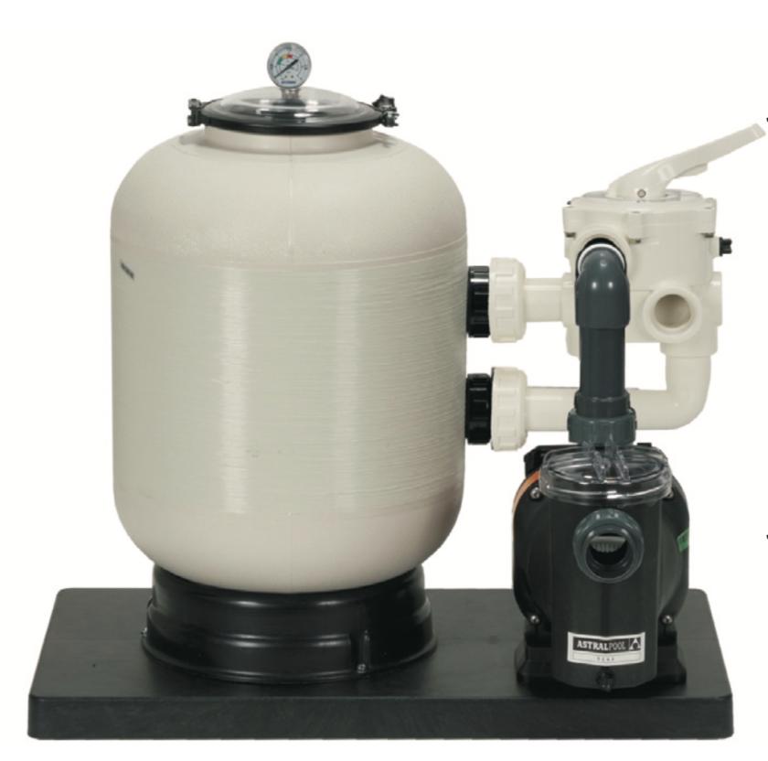 CORONA-Kompakt-Filteranlage D 400