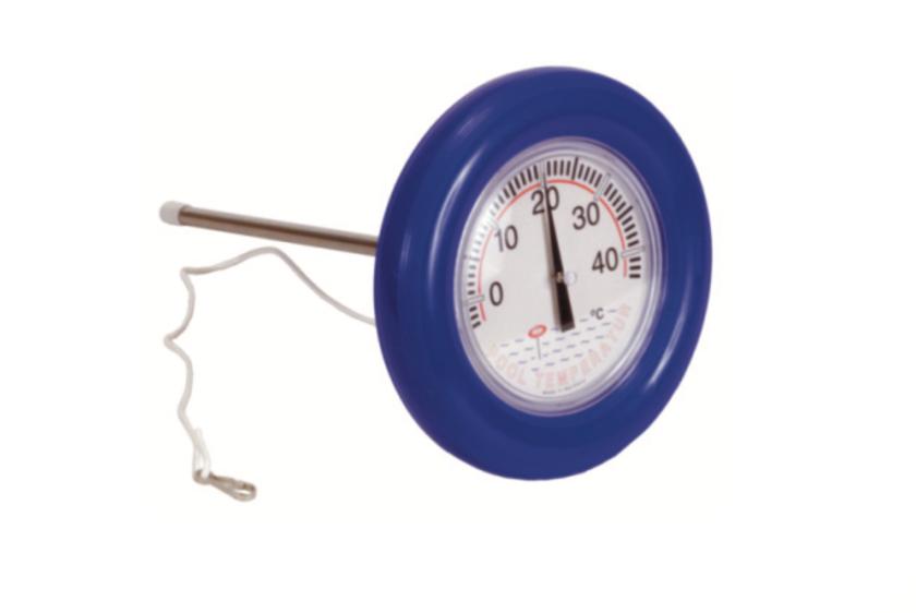 Ring-Thermometer - blau