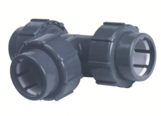 PVC-U-T-Stück 90°