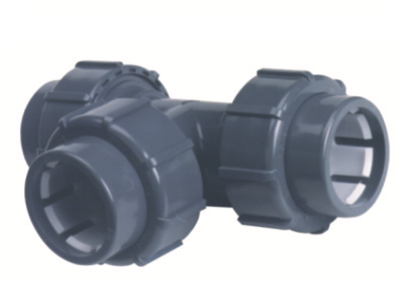 PVC-U-Übergangs T-Stück 90°